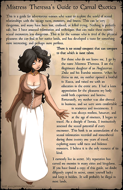 Mistress Theresas Guide to..