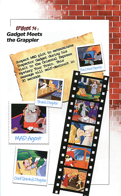 Inspector Gadget Artbook - part 8