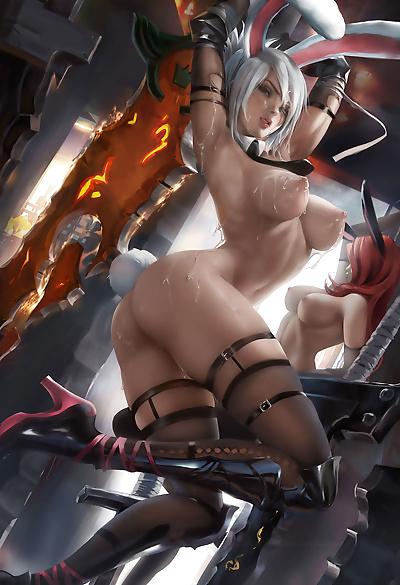 Sakimichans Nude works - part 11