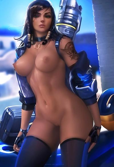 Sakimichans Nude works