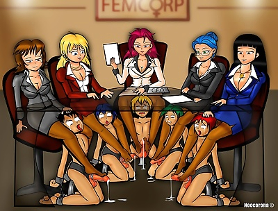 Neocorona Femdom Collection - part 5