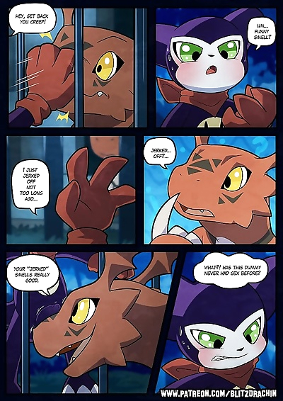 An inexperienced Guilmon