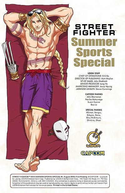 Street Fighter Summer Sports Special 2018