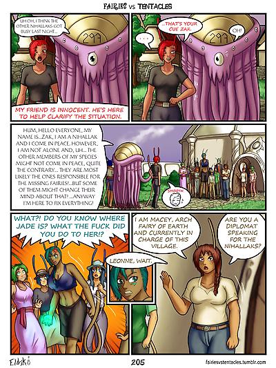 Fairies vs Tentacles Ch. 1-3 - part 11