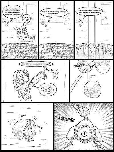 Ocarina of Vore Ch. 1-5
