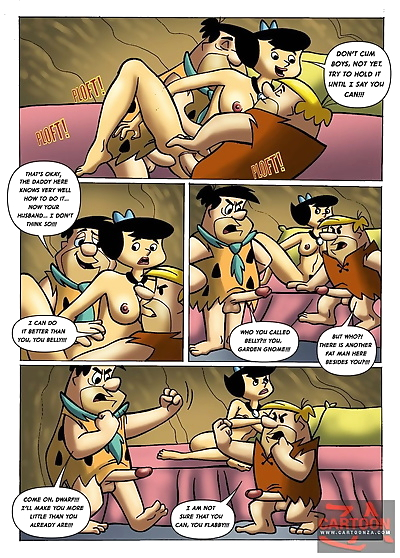 The flintstones COMIC 6 CARTOONZA