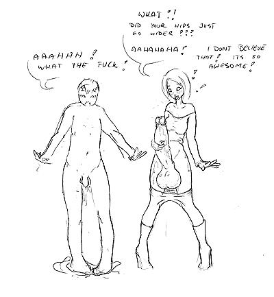 Futanari sissyfication - part 8