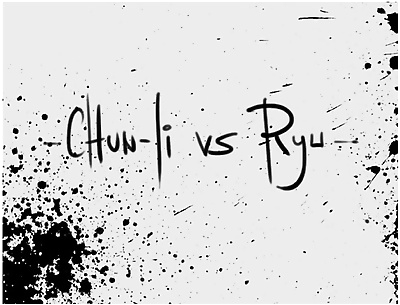Chun Li X Ryu