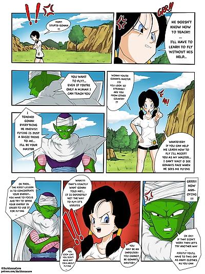 DarkToons Cave Green Master Dragon Ball Z Ongoing